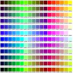 שימוש בצבעים בתהליך של בניית אתר אינטרנט